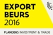 Logo of the Flanders Investment and Trade Export Beurs 2016