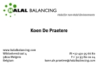 Image of the Halal Balancing business card